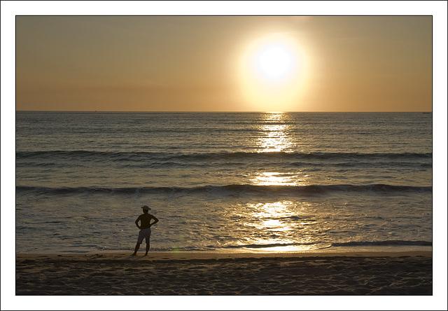 l'homme et le soleil