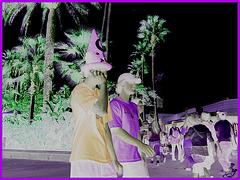 Magicien au cellulaire / Magical cell phone call time - Disney Horror pictures show / 30 décembre 2006 -  Négatif