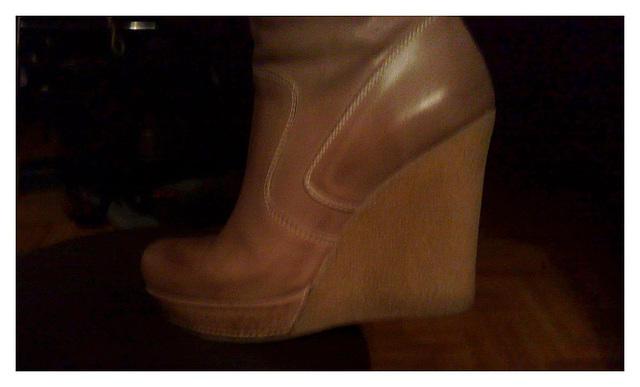 Les bottes sexy de Madame Berhgam's sexy boots - 9 décembre 2011 - Recadrage.