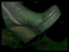 Les bottes sexy de Madame Berhgam's sexy boots / 9 décembre 2011 - Version postérisée.