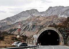 Fahrt über den Arlbergpass