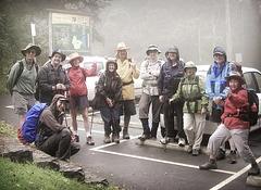 bushwalking with friends