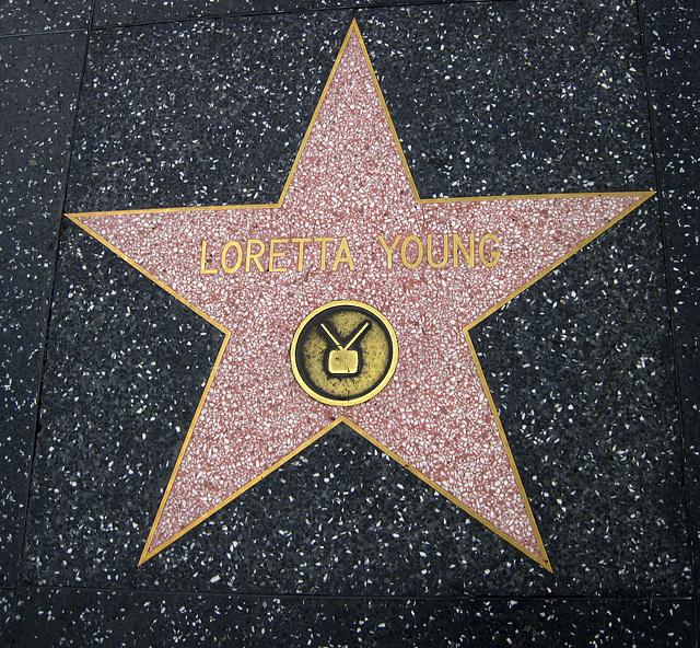 Great L.A. Walk (1235) Loretta Young