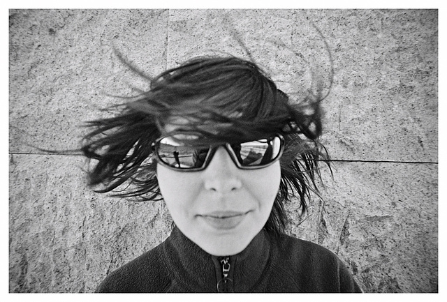 Windy at the Great Wall