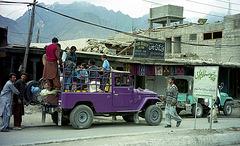 Pakistan. Skardu. Public transport