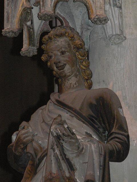 Regensburger Dom - der lachende Engel
