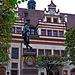 Der junge Goethe vor dem Alten Rathaus