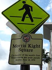 Great L.A. Walk (1343) Morris Kight Square