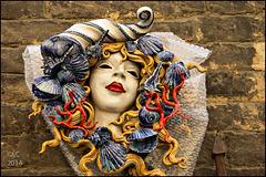 Mask in Siena