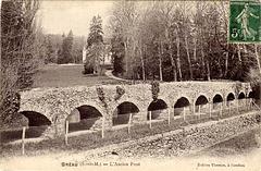 Le pont Napoléon - Bréau