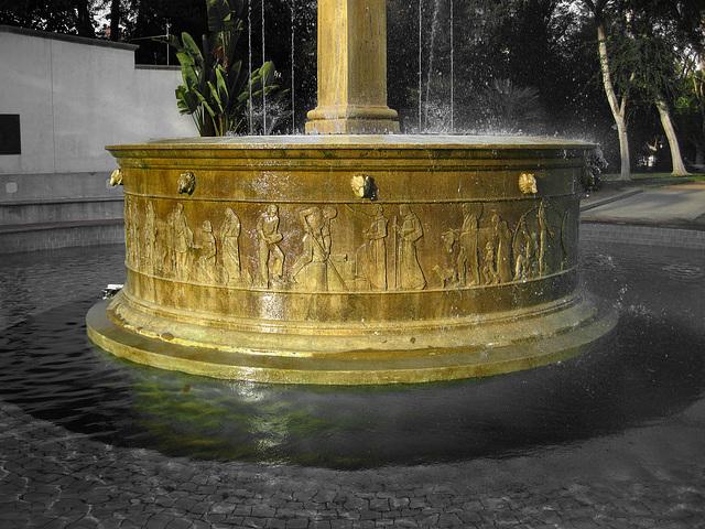 Great L.A. Walk (1546A) Electric Fountain