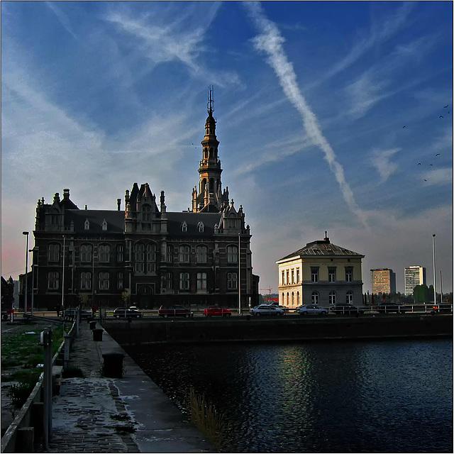 Amazing light in Antwerp