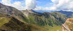 Bergpanorama auf der Frauenwand 2451 m