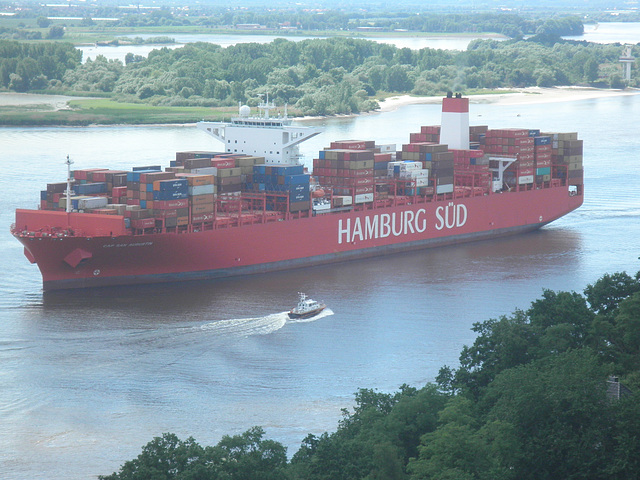 Containerschiff CAP SAN AUGUSTIN