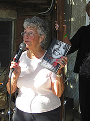 Dot Reed auctioning a copy of  'True You' by Janet Jackson (0789)