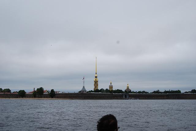 St Pétersbourg Au loin