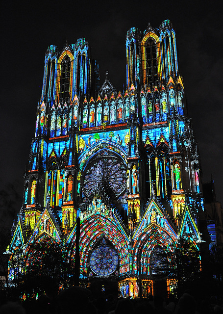 Reims Cathedrale Lumiere Cathedrale de Reims