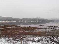 Water & snow /  Eau enneigée