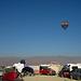 Hot Air Ballon Over Black Rock City (0144)