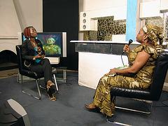 Ĉe B-One-Télévision-Kinshasa