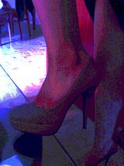 Les talons hauts de Lady Berhgam / Lady Berhgam' s high heels - Effet de nuit en postérisation