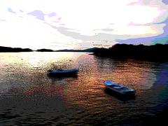 sunset (1) Acquarello