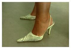 Lady Bergham en talons hauts / Lady Bergahm's high heels - Recadrage