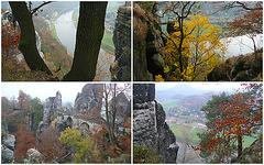 Bastei im Herbst am 4.11.2011 - 1 -