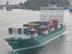 """Feeder-Containerschiff """"CHRISTOPHER"""""""