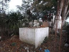 Cimetière panaméen / Panamanian cemetery.