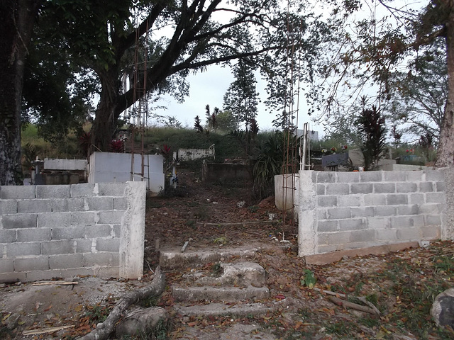 Cimetière du Darien / Darien cemetery.