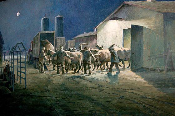 Bestotransporto laŭ fia tradicio