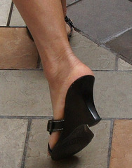 wedge heel, callisto
