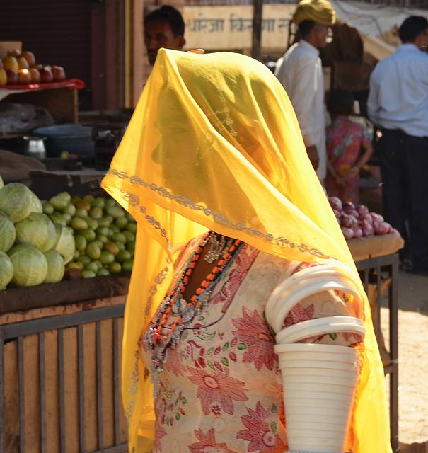 Tribal woman. Thar Desert India