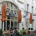 Straßencafe in Regensburg