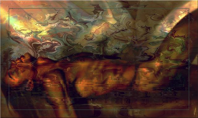 A l'écart de tes rêves je retrouve les miens, et le vide parvient à faire naître les mots, miel d'amour sur vélin....