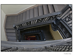 Stairwell Full Frame Fisheye