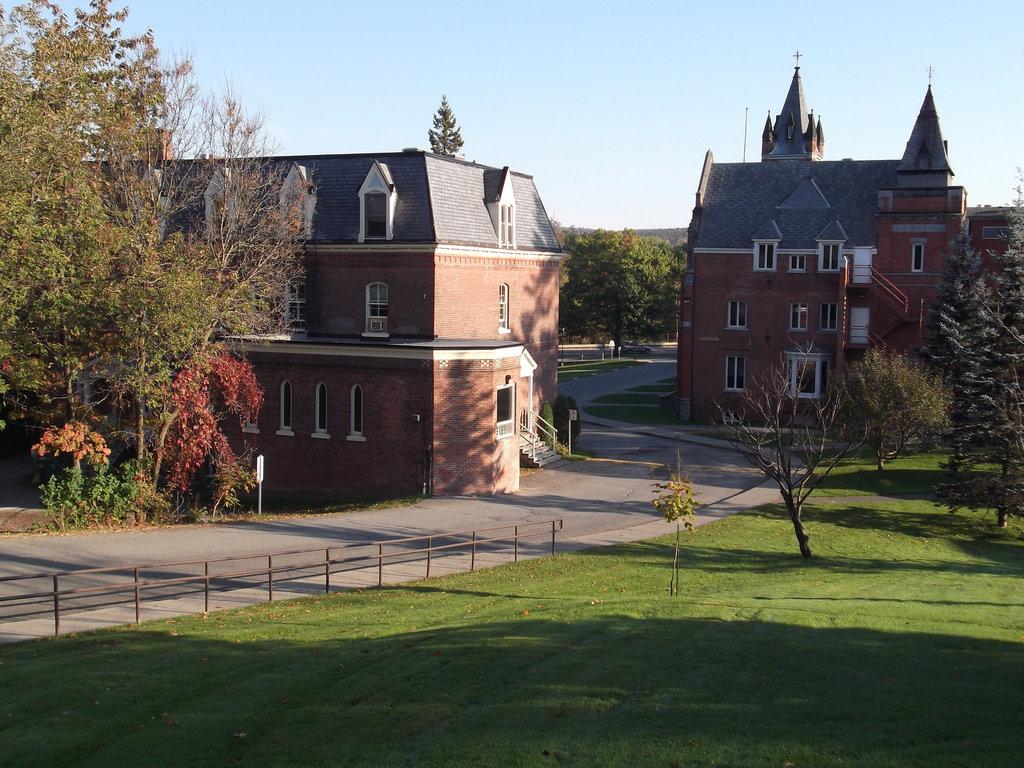 Bâtiments de l'université Bishop's buildings - 8 octobre 2011