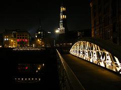 Hamburg, Speicherstadt bei Nacht / Bild 1302
