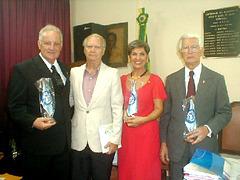 Posse na Academia de Letras Rio - Cidade Maravilhosa - 2005