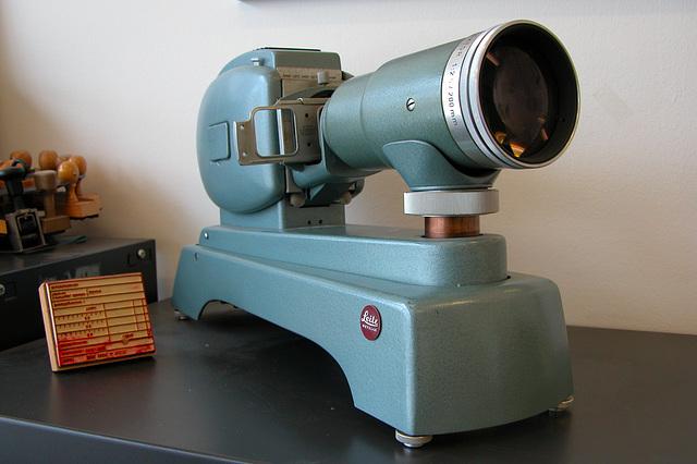 Before there were beamers: Leitz-Wetzlar Prado projector