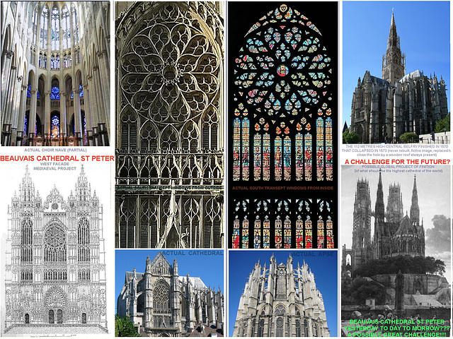 Beauvais Cathedral St Peter Fictive Completion