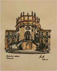 2012-01-30 Wiesbaden-Biebrich-Schloss-Rotunde-web