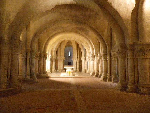 Crypte de Saint Eutrope.