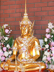 Ein Buddha in der Oberpfalz