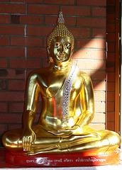 Im Buddhistischen Meditationszentrum Opf.