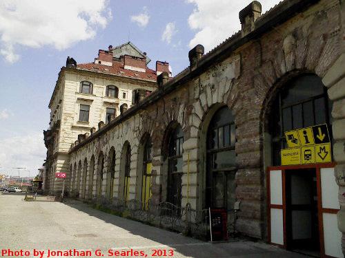 Damage on Praha Hlavni Nadrazi, Prague, CZ, 2013