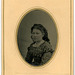Tintype of Girl in Plaid Dress, Norristown, Pa.