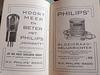 Advertisement for Philips radio parts