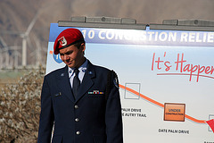 AFROTC at I-10 Overpasses Ribbon Cutting (3318)